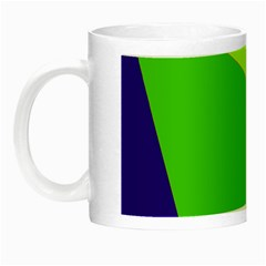Colorful abstract design Night Luminous Mugs