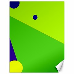 Colorful abstract design Canvas 12  x 16