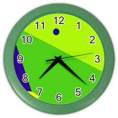Colorful abstract design Color Wall Clocks