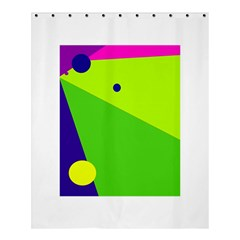 Colorful abstract design Shower Curtain 60  x 72  (Medium)