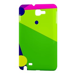 Colorful abstract design Samsung Galaxy Note 1 Hardshell Case