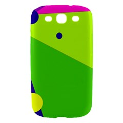 Colorful abstract design Samsung Galaxy S III Hardshell Case