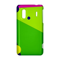 Colorful abstract design HTC Evo Design 4G/ Hero S Hardshell Case