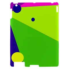 Colorful abstract design Apple iPad 2 Hardshell Case
