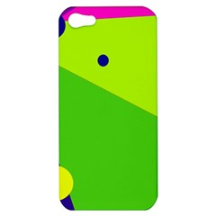 Colorful abstract design Apple iPhone 5 Hardshell Case