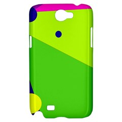 Colorful abstract design Samsung Galaxy Note 2 Hardshell Case