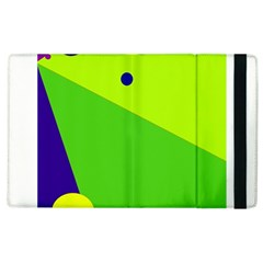 Colorful abstract design Apple iPad 3/4 Flip Case