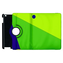 Colorful abstract design Apple iPad 3/4 Flip 360 Case