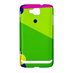 Colorful abstract design Samsung Ativ S i8750 Hardshell Case