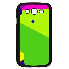 Colorful abstract design Samsung Galaxy Grand DUOS I9082 Case (Black)