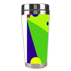 Colorful abstract design Stainless Steel Travel Tumblers