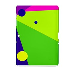 Colorful abstract design Samsung Galaxy Tab 2 (10.1 ) P5100 Hardshell Case