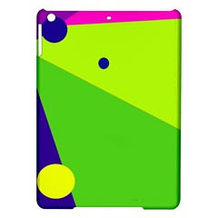 Colorful abstract design iPad Air Hardshell Cases
