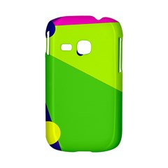 Colorful abstract design Samsung Galaxy S6310 Hardshell Case