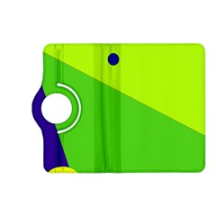 Colorful abstract design Kindle Fire HD (2013) Flip 360 Case