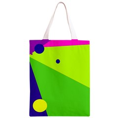 Colorful abstract design Classic Light Tote Bag