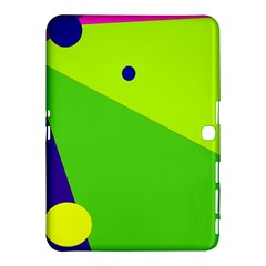 Colorful abstract design Samsung Galaxy Tab 4 (10.1 ) Hardshell Case