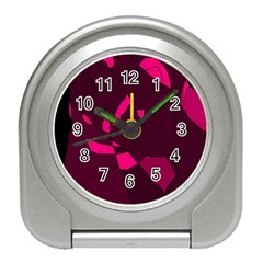 Abstract design Travel Alarm Clocks