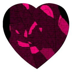 Abstract design Jigsaw Puzzle (Heart)