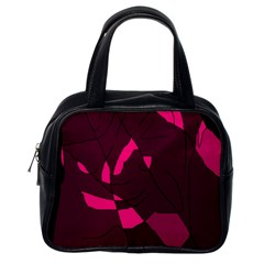 Abstract design Classic Handbags (One Side)
