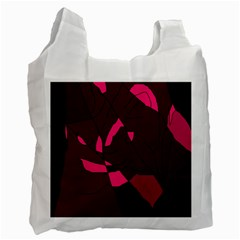 Abstract design Recycle Bag (One Side)