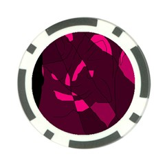 Abstract design Poker Chip Card Guards (10 pack)