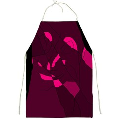 Abstract design Full Print Aprons