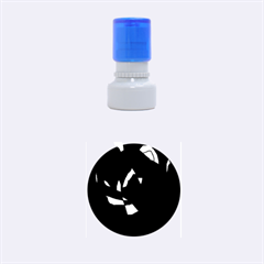 Abstract design Rubber Round Stamps (Small)
