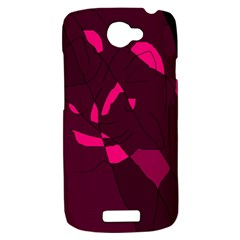 Abstract design HTC One S Hardshell Case