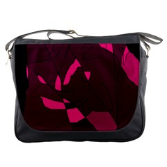 Abstract design Messenger Bags