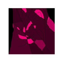 Abstract design Small Satin Scarf (Square)