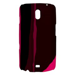 Pink and black lines Samsung Galaxy Nexus i9250 Hardshell Case