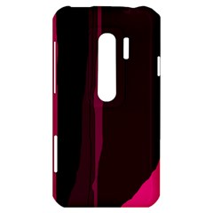 Pink and black lines HTC Evo 3D Hardshell Case