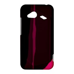 Pink and black lines HTC Droid Incredible 4G LTE Hardshell Case