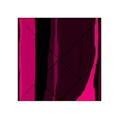 Pink and black lines Acrylic Tangram Puzzle (4  x 4 )