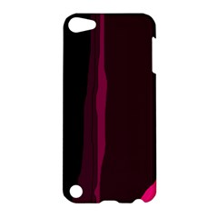 Pink and black lines Apple iPod Touch 5 Hardshell Case