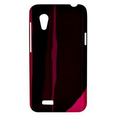 Pink and black lines HTC Desire VT (T328T) Hardshell Case