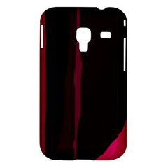 Pink and black lines Samsung Galaxy Ace Plus S7500 Hardshell Case