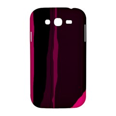Pink and black lines Samsung Galaxy Grand DUOS I9082 Hardshell Case