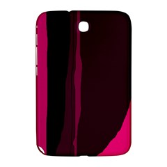 Pink and black lines Samsung Galaxy Note 8.0 N5100 Hardshell Case