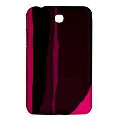 Pink and black lines Samsung Galaxy Tab 3 (7 ) P3200 Hardshell Case