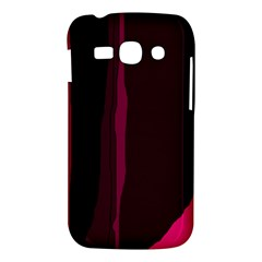 Pink and black lines Samsung Galaxy Ace 3 S7272 Hardshell Case