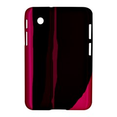 Pink and black lines Samsung Galaxy Tab 2 (7 ) P3100 Hardshell Case
