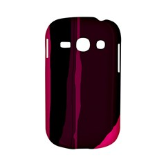 Pink and black lines Samsung Galaxy S6810 Hardshell Case