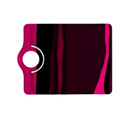Pink and black lines Kindle Fire HD (2013) Flip 360 Case