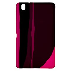 Pink and black lines Samsung Galaxy Tab Pro 8.4 Hardshell Case