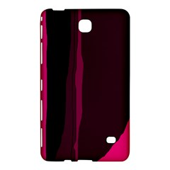 Pink and black lines Samsung Galaxy Tab 4 (7 ) Hardshell Case