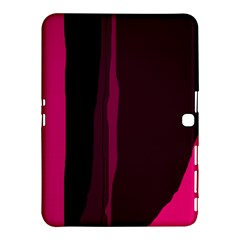 Pink and black lines Samsung Galaxy Tab 4 (10.1 ) Hardshell Case