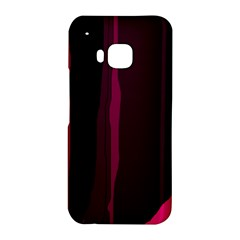 Pink and black lines HTC One M9 Hardshell Case