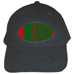 Green and red lines Black Cap